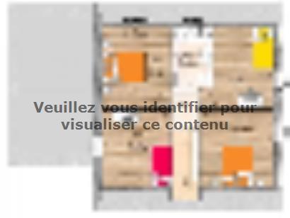 Plan de maison RCA20105-5GA 5 chambres  : Photo 2