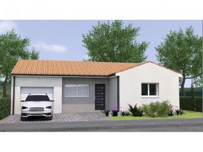 Modèle de maison PP2082-2BGI 2 chambres  : Photo 1