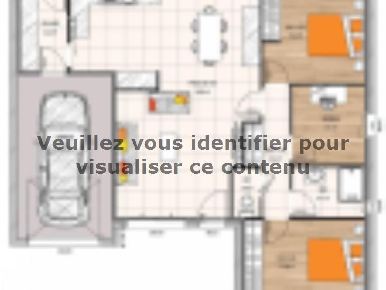 Modèle de maison PP2082-2BGI : Vignette 2