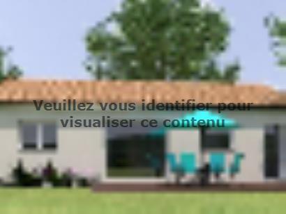 Plan de maison PP2082-2BGI 2 chambres  : Photo 1