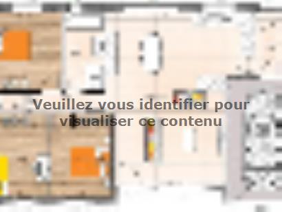 Plan de maison PP2094-3GI 3 chambres  : Photo 1
