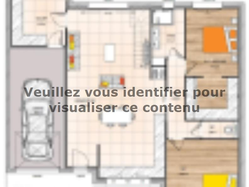 Plan de maison PP2098-2GI : Vignette 1