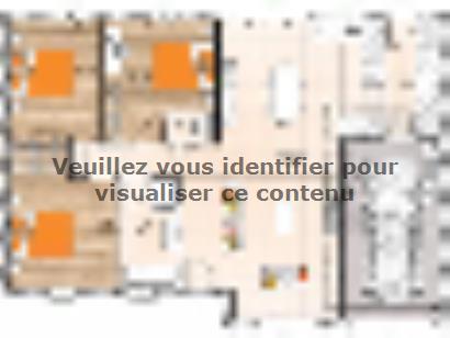 Plan de maison PP2093-3GI 3 chambres  : Photo 1