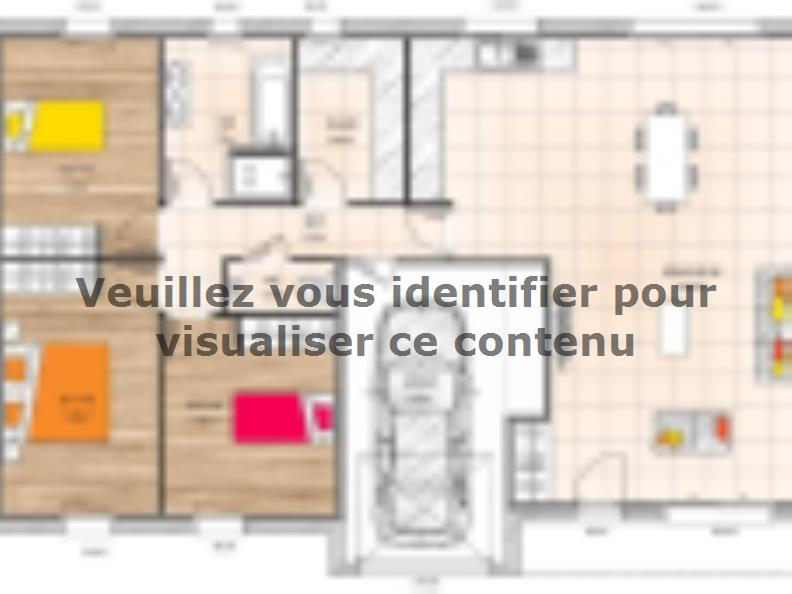 Plan de maison PP20107-3GI : Vignette 1