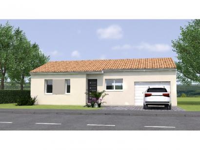 Modèle de maison PP2068-2GI 2 chambres  : Photo 1