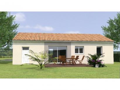 Modèle de maison PP2068-2GI 2 chambres  : Photo 2