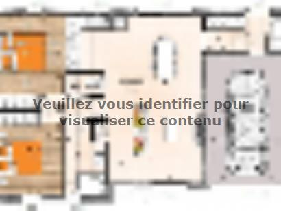 Plan de maison PP2068-2GI 2 chambres  : Photo 1