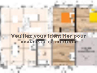 Plan de maison PP2087-3GI 3 chambres  : Photo 1