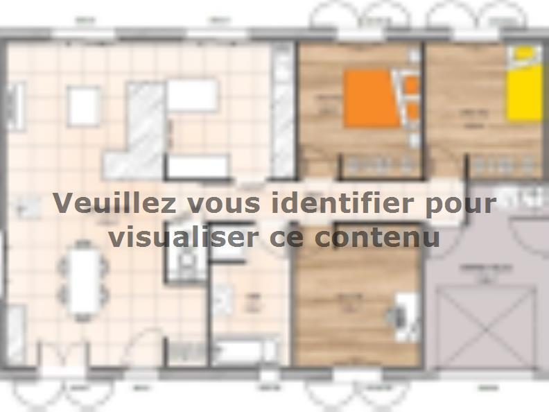 Plan de maison PP2087-3GI : Vignette 1