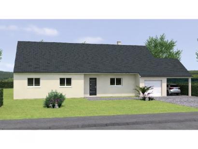 Modèle de maison PP20134-4GI 3 chambres  : Photo 1