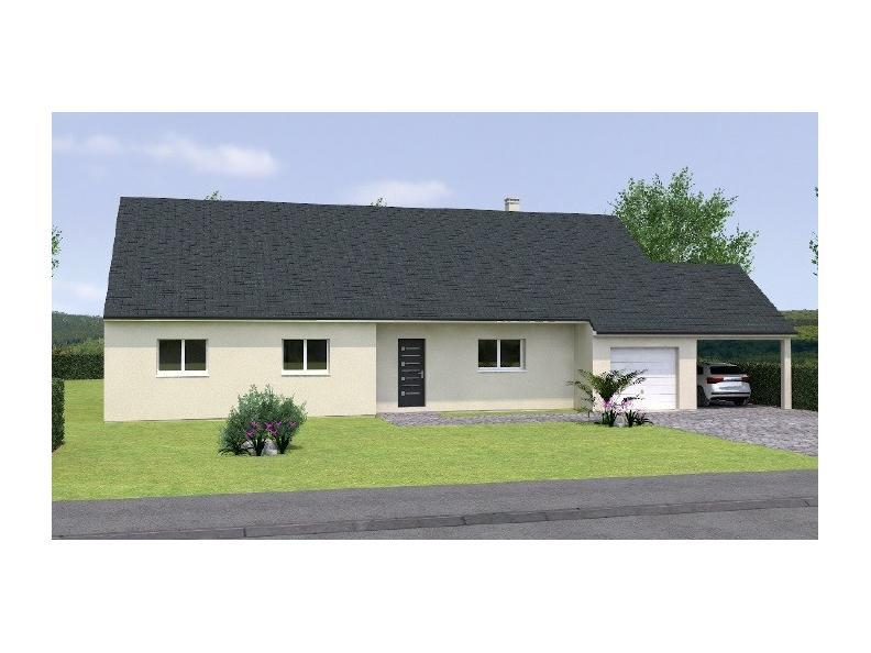 Modèle de maison PP20134-4GI : Vignette 1