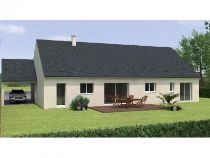 Modèle de maison PP20134-4GI 3 chambres  : Photo 2
