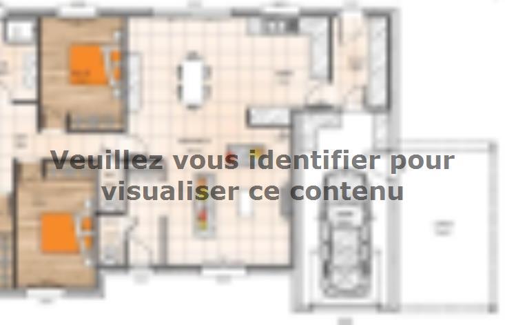 Plan de maison PP20134-4GI : Vignette 1