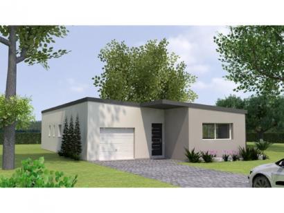 Modèle de maison PPTT20102-3GI 3 chambres  : Photo 1