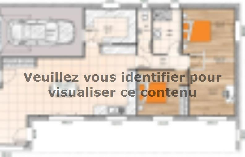 Plan de maison PPTT20102-3GI : Vignette 1