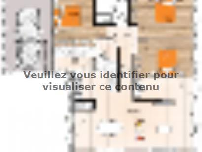 Plan de maison PPL2099-3GI 3 chambres  : Photo 1
