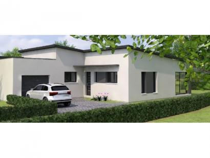 Modèle de maison PPTT20145-3BGI 3 chambres  : Photo 1