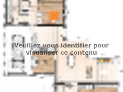 Plan de maison PPTT20145-3BGI 3 chambres  : Photo 1
