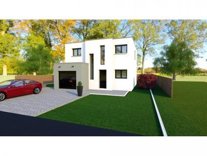 Maison neuve  à  Pommérieux (57420)  - 249999 € * : photo 1