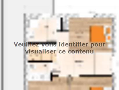 Plan de maison R120144-4BGI 4 chambres  : Photo 2