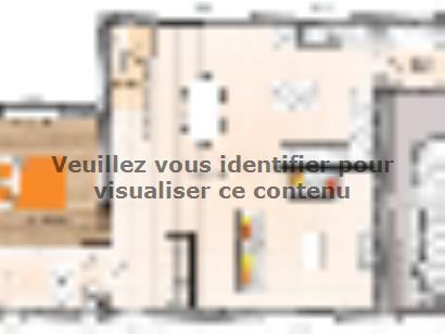 Plan de maison R120126-4GI 4 chambres  : Photo 1