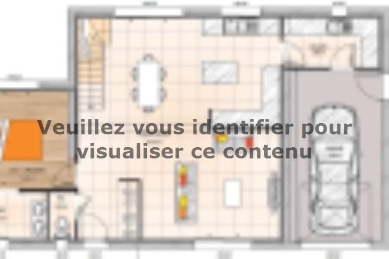 Plan de maison R120126-4GI : Vignette 1