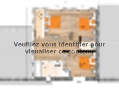 Plan de maison R120126-4GI 4 chambres  : Photo 2