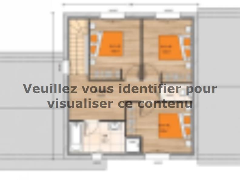 Plan de maison R120126-4GI : Vignette 2