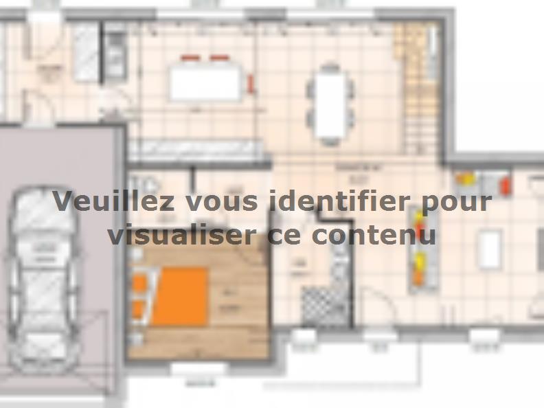 Plan de maison R120121-4GI : Vignette 1