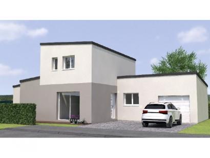 Modèle de maison R1TT20106-4GI 4 chambres  : Photo 1