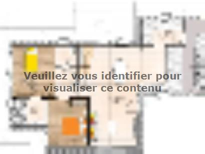 Plan de maison R1TT20106-4GI 4 chambres  : Photo 1