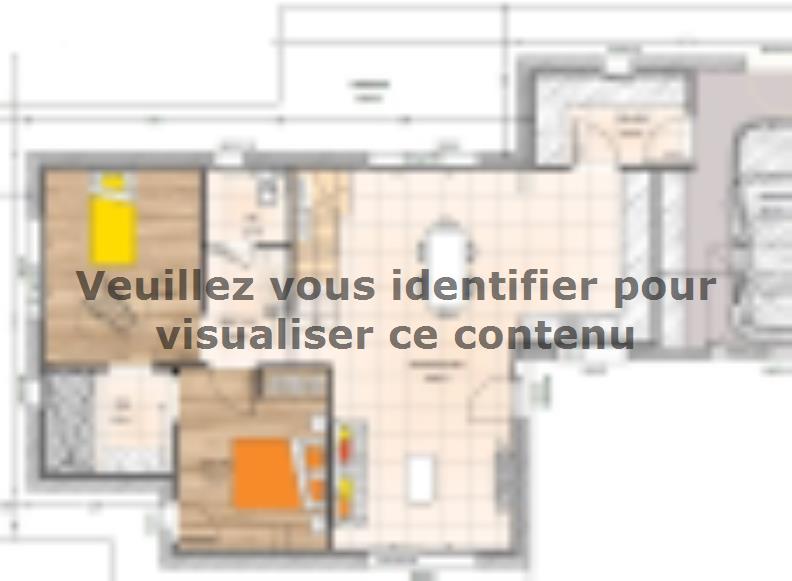 Plan de maison R1TT20106-4GI : Vignette 1