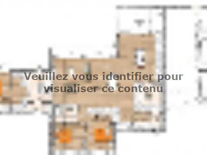 Plan de maison PPTT20139-3GA 3 chambres  : Photo 1