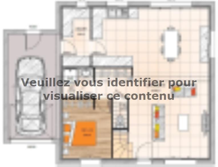 Plan de maison R120133-6GA : Vignette 1