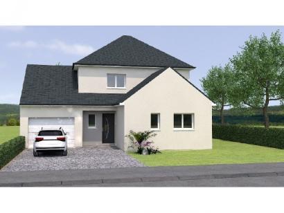 Modèle de maison R120125-4GI 4 chambres  : Photo 1