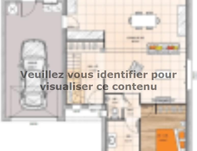 Plan de maison R120125-4GI : Vignette 1