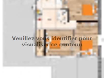 Plan de maison R120125-4GI 4 chambres  : Photo 2