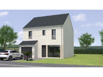 Modèle de maison R12094-4GI 4 chambres  : Photo 1