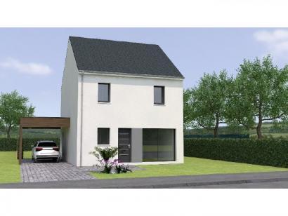 Modèle de maison R12092-3B 3 chambres  : Photo 1