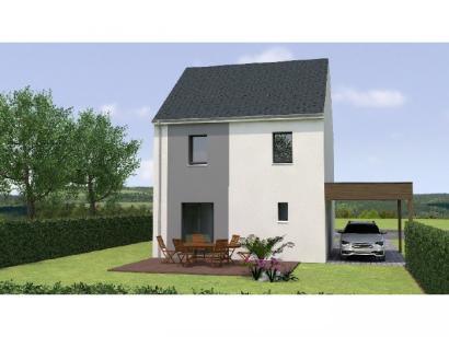 Modèle de maison R12092-3B 3 chambres  : Photo 2