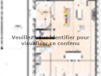 Plan de maison R12092-3B 3 chambres  : Photo 1