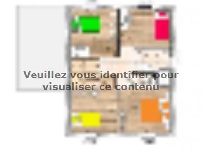 Plan de maison R12092-3B 3 chambres  : Photo 2