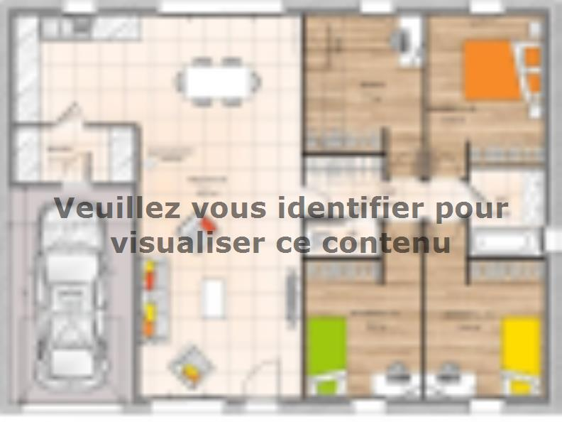 Plan de maison PP2095-4GI : Vignette 1