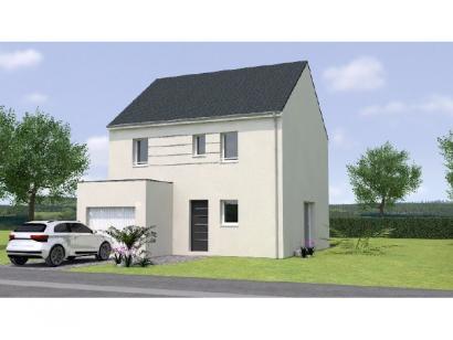 Modèle de maison R12098-4GI 4 chambres  : Photo 1