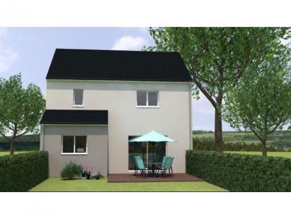 Modèle de maison R12087-3GI 3 chambres  : Photo 2