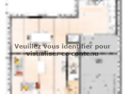 Plan de maison R12087-3GI 3 chambres  : Photo 1