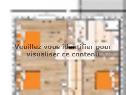 Plan de maison R12087-3GI 3 chambres  : Photo 2