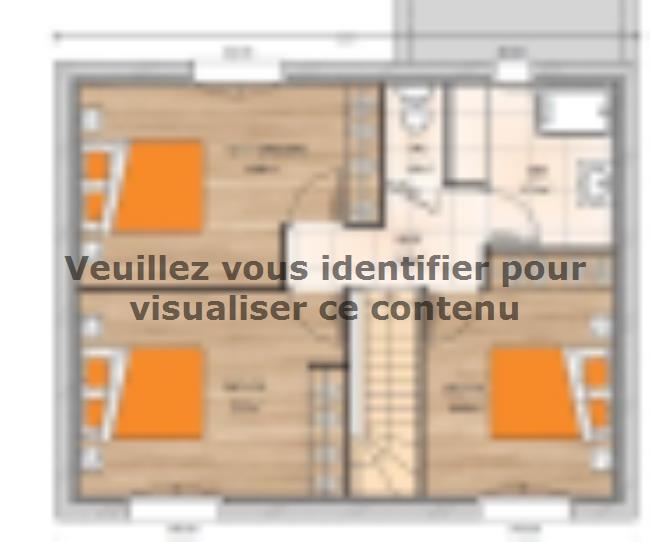 Plan de maison R12087-3GI : Vignette 2