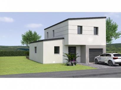 Modèle de maison R1MP20109-4MGI 4 chambres  : Photo 1