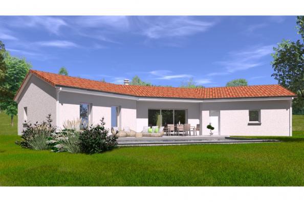 Modèle de maison PP111_P1698V6_Duplicata 5 chambres  : Photo 1